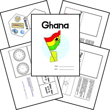 Free Ghana Unit Study and Lapbook
