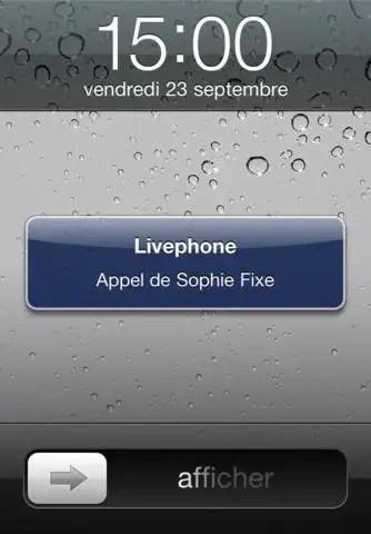 livephone appel
