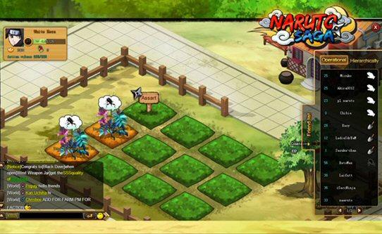 naruto saga farming