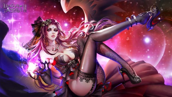 League of Angels 2 sexy wallpaper (7)