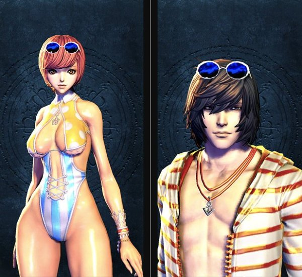 Blade & Soul Swimsuit Collection 4