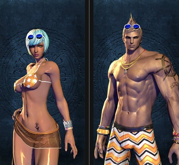 Blade & Soul Swimsuit Collection 5