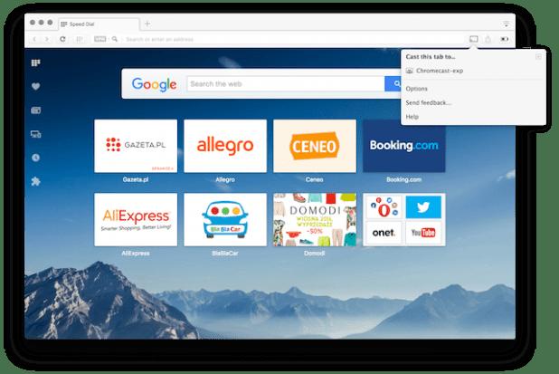 Opera free vpn desktop Chromecast