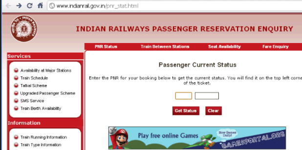 How to Check Train PNR Status Online and SMS