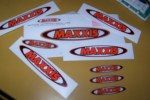 Maxxis Stickers