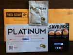 Platinum Superior Baking Yeast and coupon from Red Star
