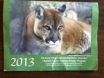 2013 calendar from Friends of Chartotte Harbor Estuary, Inc.