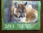 2013 calendar from Friends of Chartotte Harbor Estuary, Inc.
