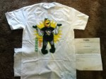 Free Iceburgh t-shirt for a chance to win 4 tickets to the Penguins home opener in the 2014-15 season from Pittsburgh Penguins Foundation