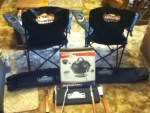 Winner in the Johnsonville Sausage - Road America Promotion - Won a Johnsonville Tailgating Kit
