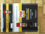 Winner in the Pam Grilling Flip It To Win It Instant Win Game & Sweepstakes - Won a coupon for any Pam Cooking Spray