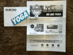 Free - We Are YOGA sticker