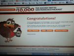 Winner in the Kikkoman Juicy Bird Sweepstakes - Won a Pot Holder