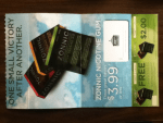 Coupons for Zonnic Nicotine Gum - stop smoking aid