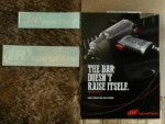 Free Poster & Stickers - Ingersoll Rand - The Bar Doesn't Raise Itself - The 2235 series Real Tools for Real Work - from Hubcast Cloud Print Solutions & Team Concept Printing & Thermo