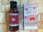 12oz Bottle of Desert Night BBQ Sauce for Joining in on the Marlboro South West Sizzle Challenge