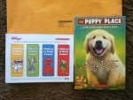 The Puppy Place - Free Book from Scholastic - Offer is In side of the Big boxes of Pringles - Kellogg's Fuel for School