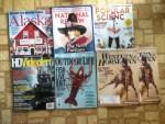 Alaska May magazine - National Review Weekly - Popular Science May magazine - HD VideoPro April magazine - Outdoor Life May magazine - 2 Western Horseman May magazines