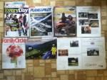 EveryDay with Rachael Ray April magazine - Plane&Pilot May magazine