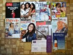 The Economist Weekly - Glamour May magazine - Better Homes and Gardens mini magazine - US Weekly - Parents May magazine - Every Day with Rachael Ray May magazine
