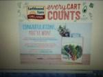 Winner of a Earthbound Farm Reusable Shopping Bag - Thank you very much Earthbound Farm Organic