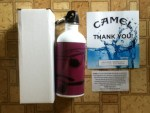 Free Custom Water Bottle from Camel