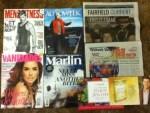 Men's Fitness June magazine - Autoweek Weekly - Fairfield Currant Weekly - Wabash Valley May Newsletter - Vanidades June magazine - Marlin June-July Magazine -
