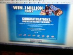 Instant Winner in the Mars Chocolate , Road Trip Game - Won a coupon for a Free MARS Chocolate Single
