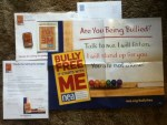 Bully Free It Starts with Me Poster - Window Sticker - Pin - from the National Education Association
