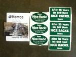Hemco Nice Rack! Stickers