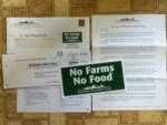 No Farms No Food Magnet from American Farmland Trust