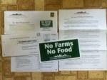 No Farms No Food Magnet from American Farmland Trust