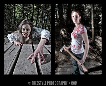 On the set of Fear the Living Dead © Andre Ringuette/Freestyle Photography