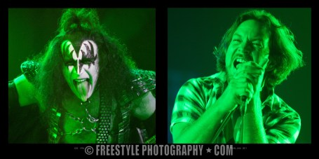 KISS 1996 + Pearl Jam 2011 Sept. 13, 2012 PHOTO: Andre Ringuette/Freestyle Photography