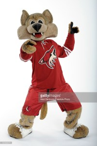 Howler, mascot for the Phoenix Coyotes, poses for a portrait during 2012 NHL All-Star Weekend at Ottawa Convention Centre on January 26, 2012 in Ottawa, Canada. (Photo by Matt Zambonin/Freestyle Photo/Getty Images)
