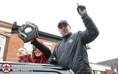 Ottawa REDBLACKS Grey Cup Parade November 29, 2016 PHOTO: Andre Ringuette/Freestyle Photography