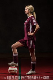 Gee-Gees Studio Photoshoot 2012 Soccer (PHOTO: Andre Ringuette/Freestyle Photography)