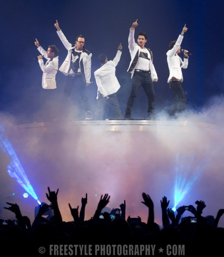 New Kids on the Block The Total Package Tour June 05, 2013 (PHOTO: Jana Chytilova/Freestyle Photography)