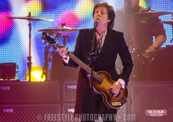 Paul McCartney - Canadian Tire Centre July, 7, 2013 PHOTO: Andre Ringuette/Freestyle Photography