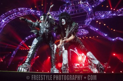 KISS - Canadian Tire Centre July, 25, 2013 PHOTO: Andre Ringuette/Freestyle Photography