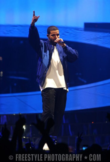 Drake - Canadian Tire Centre Oct., 22, 2013 PHOTO: Andre Ringuette/Freestyle Photography