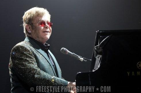 Elton John concert Feb. 13, 2014 PHOTO: Jana Chytilova/Freestyle Photography