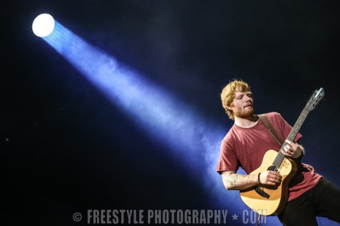 Ed Sheeran - Canadian Tire Centre June, 3, 2015 PHOTO: Andre Ringuette/Freestyle Photography