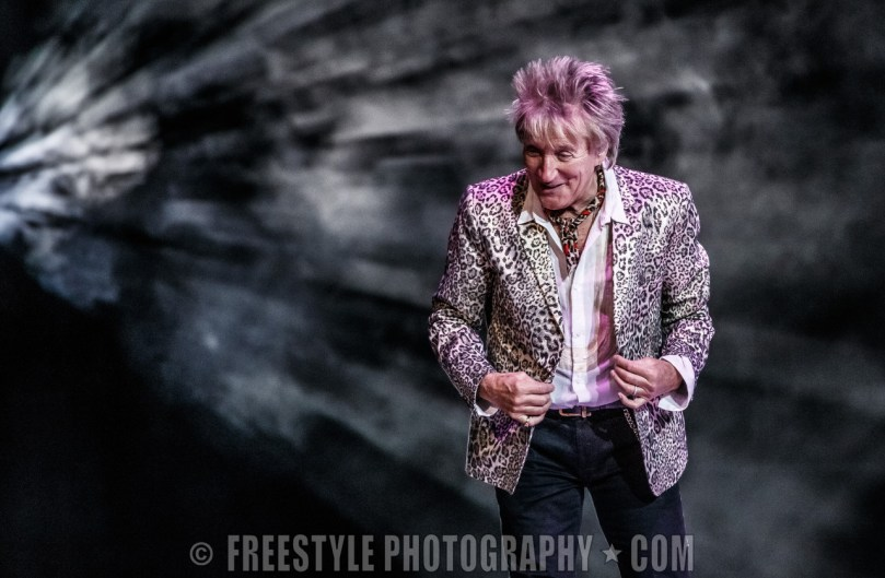 Rod Stewart - Canadian Tire Centre March 30, 2018 PHOTO: Andre Ringuette/Freestyle Photography