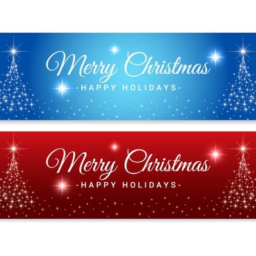Medium Crop Of Merry Christmas Banner