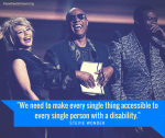 Stevie Wonder, Fame, and Disability: 7 Reasons the Entertainment Industry Must Change