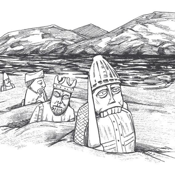 Hébrides extérieures : Le mystère des Chessmen de Uig