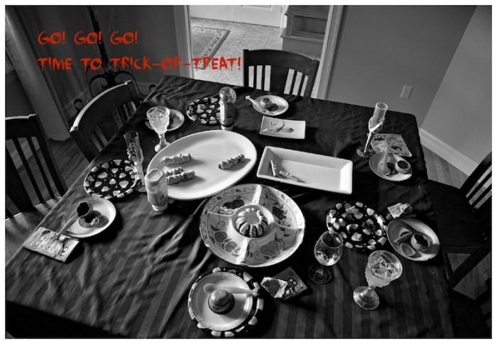 L'art de vider une table!