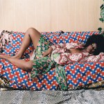 Simmons collection_Mickalene Thomas_Afro_Goddess_With_Hand_Between_Legs_photo