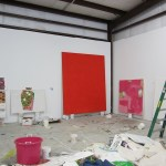 Trenton Doyle Hancock studio